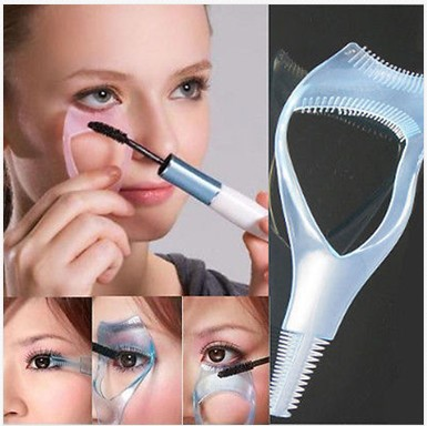 3 in 1 Mascara Eyelash Brush Curler Lash Comb Cosmetic accessory for women Min Mix Oder is $10 High Quality,Free Ship CL0182*1(China (Mainland))