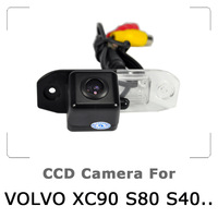 Car Rear view Camera For VOLVO S80 SL40 SL80 XC60 XC90 S40 C70 with CCD Sensor Waterproof 170 degree Night Vision Free Shipping