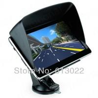 "7"" Inch 4GB Car GPS SAT NAV Voice Navigation FM MP3/MP4 HD Touch Screen Sunshade"
