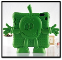 iGUY Cute Children Kids shell Freestanding Drop resistance protective silicone EVA Case cover For iPad 2 3 4