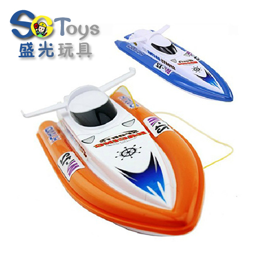 Free shipping High speed rc boat yacht model yacht toy boat double motor foot powered(China (Mainland))