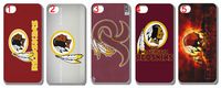 10pcs/lot Washington Redskins Football Team NFL Style Hard Cover case for iPhone 5 5S 5G free shipping