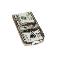 US Dollars Leather Cover Case For Samsung Galaxy S3 Mini i8190