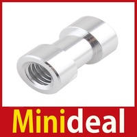 """rising stars [MiniDeal] New 1 4"""" 3 8"""" Tripod Screw to Light Umbrella Holder Adapter For Camera Camcorder Hot hot promotion!"""