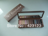 Hot Sales New Makeup NAKE 3 Eyeshadow Palette NAKE 3 12 Color Palettes Eye Shadow
