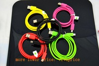 Wholesale 300 pcs/lot 1M Micro USB Data Sync Cable/Charger Cable For Nokia for HTC for Samsung