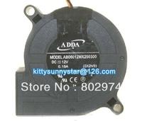 ADDA 6025 AB06012MX250300 12V 0.18A 3Wire Cooling Fan