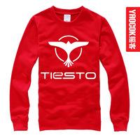 Dj tiesto iron fashion o-neck pullover sweatshirt
