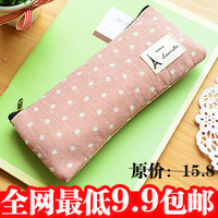 Stationery multifunctional pencil case brief large capacity stationery box pencil bags female