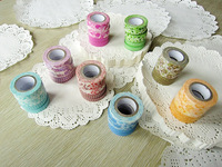 Paper tape masking paper tape shredded stationery decoration tape loading combination