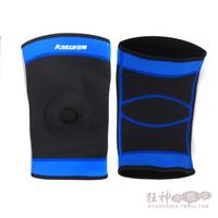 Breathable kneepad trepanned basketball football badminton sports kneepad thermal single