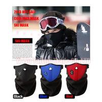 1pc Neoprene Neck Warm Helmet Half Face Mask Winter Veil For Sports Bike Bicycle Motorcycle Ski Snowboard Free Shipping