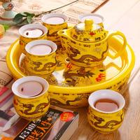 Ceramic tea set kung fu tea teaberries belt quality gift