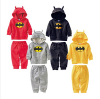 Retail 2013 Kids Terry Monster Hoodie Sports Wear Baby Clothing Outfit Boys Girls Sports Suit Clothes Fit 1-5 Yrs Free Shipping