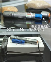 HIGH POWER 532nm 30000mW focus adjustable burning green laser pointer with 5 star caps