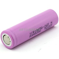 4pcs/lot Original 18650 ICR 18650-26F 2600mAh Li-ion 3.7v Battery For Samsung laptop +Free Shipping