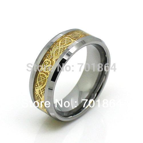 Stunning wedding rings Dragon ball wedding ring