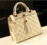2013 small plaid bag work with the trend of female bag portable cross-body women's handbag one shoulder bag  bolsas clutch