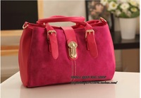 Fashion trend of the street 2013 nubuck leather female bags handbag vintage messenger bag  bolsas clutch
