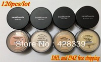New Prevent bask loose powder,bareMinerals bare Minerals Escentuals SPF15 Foundation, 8g(120pcs/lots)