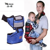 2013 new kangaroo walkers Holding baby carry waist seat with belt Mother baby care stool babie carrier red blue Free shipping