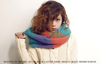 2013 Neckwear Winter Knitted Scarf Female Pullover Warm Acrylic Long Shawls Knitted Crochet Scarves Women Winter Wraps