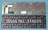NEW Ru Russian layout  Keyboard  FOR HP Sleekbook Ultrabook Pavilion 15 Black Keyboard  Free shipping