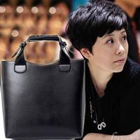 Fashion autumn vintage bags women's handbag shaping messenger PU bag ,free shipping