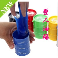 Small bucket paint small drums funny toys paint