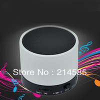 S10 can logo  Wireless Mini Bluetooth Speaker HiFi Music Player with MIC For iPhone 5 MP4  Tablet PC TF card slot Free shipping
