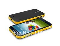 Latest style Bumblebee SGP NEO HYBRID case for Samsung Galaxy S4 SIV i9500 Shipping free MOQ:1pcs S029