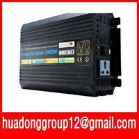 Home power inverter/ dc-ac power inverter/ pure sine wave solar inverter 12v to 120v 2000w peak 4000w