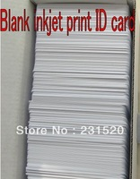 4600pcs Inkjet ID cards 0.76mm Thick White blank cards Used in Epson Inkjet Printer Dual side printable