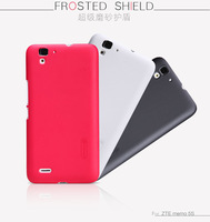 Original Nillkin Frosted Shield Shell Hard Matte Plastic Case Skin Back Cover for ZTE Memo 5S+Screen Protector +Retail box