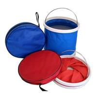 Portable folding bucket 11 L folding bucket portable camping bucket fishing bucket outdoor