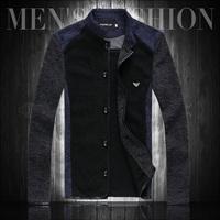 2013 autumn jacket male plus size plus size jacket slim men's clothing thin outerwear male