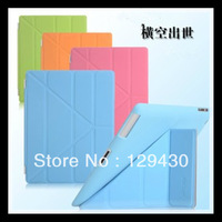 "New Arrival! SALE! Ultrathin Three Folds Smart Cover For Apple ipad 2 3 9.7"" Tablet PC Case"