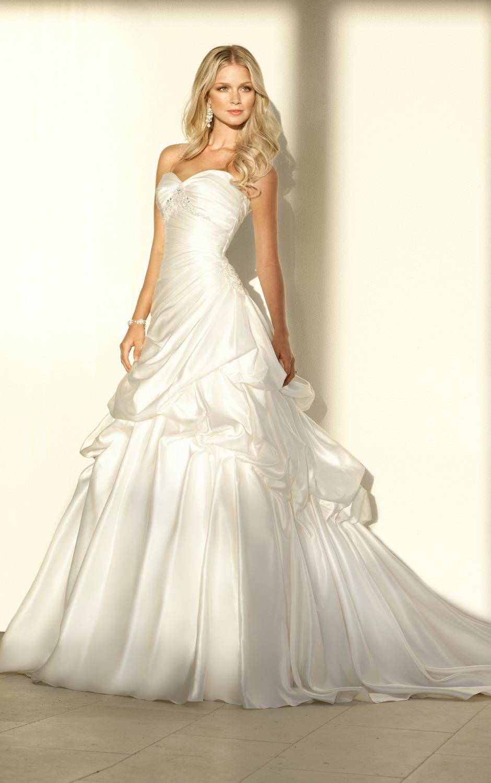 Sweetheart vestidos de novia escote — Cuadros