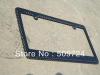 USA Model carbon fiber license  Frames /Car license plates