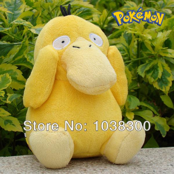 50pcs/lot Pokemon plush doll duck Pikachu Eevee Plush Doll Stuffed Animal Christmas gift wholesale PP1134(China (Mainland))