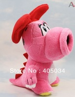 15cm plush Birdo toys dolls super mario brothers Soft Cathrine character Stuffed Christmas gift 100pcs/lot