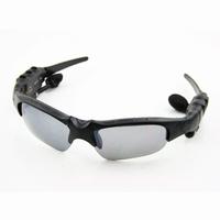 Free shipping New FM Radio Headset Fashion Sport Sunglasses Sun Glasses Polaloid Black
