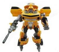 Robot Revenge of the Fallen Human Alliance Bumblebee and Sam Action Figures Toys  Transformation toy with music and light