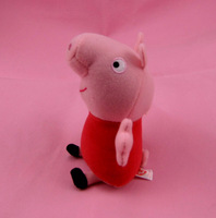 2014 New Arrival  Bosseyed  Peppa Pig Toy 7inch Peppa Pink Doll Baby Plush Toys Christmas Gift