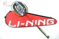 Lining N30-II carbon badminton li ning racket lining racquet RED color,Free shipping