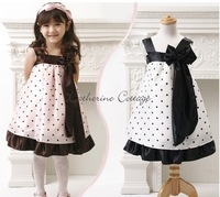 Free Shipping Retail Sales Girl Dress Kids Dresses Girl's Chiffon Dress