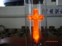 T30 e14 s aluminum 230v3w cross flame bulb