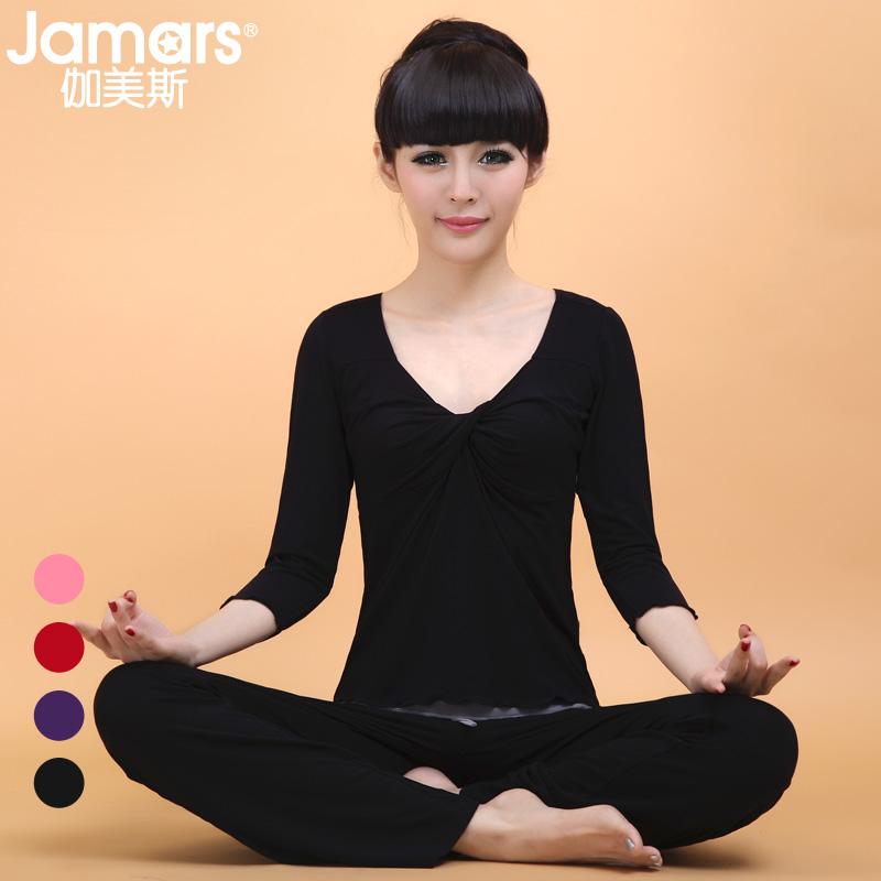 Yoga clothes set 2013 female half sleeve 02524 fitness yoga clothing(China (Mainland))