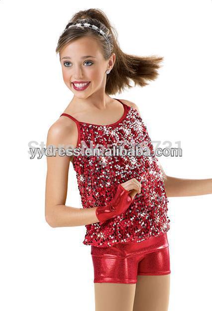 New Style Cheerful Teen Girl Dancing Wear Liturgical Dancewear Dance Team Costume Performance Stage Dress(China (Mainland))