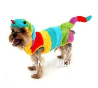 Colorful Dog Clothes Animals Snake Cosplay Apparel For Dogs,New Year Pet Clothing Promotion Sale